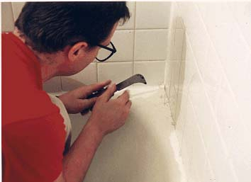 Remove And Replace Caulking